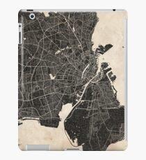 Copenhagen map ink lines iPad Case/Skin