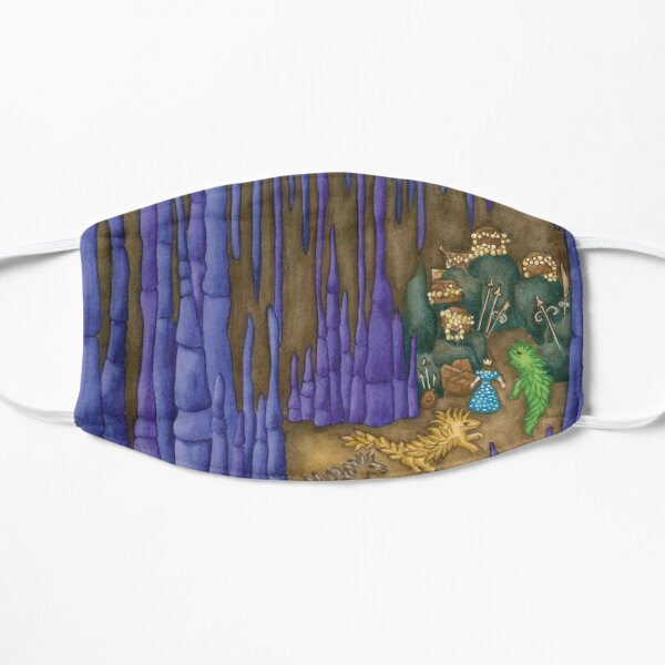 Esmeralda's Dragon Cave Flat Mask