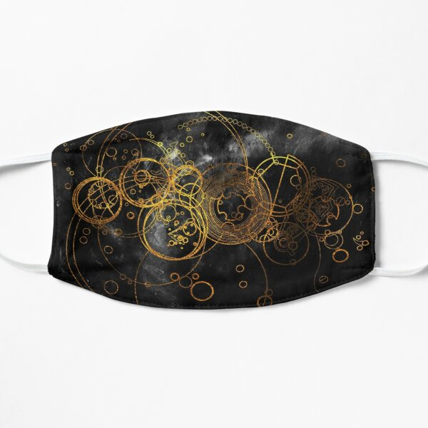 Time Lord Writing (black) Mask