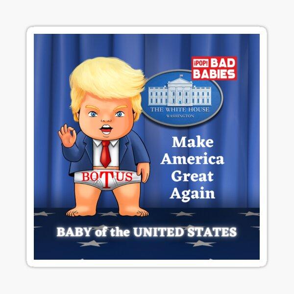 Republican Donald Trump 1 Sticker