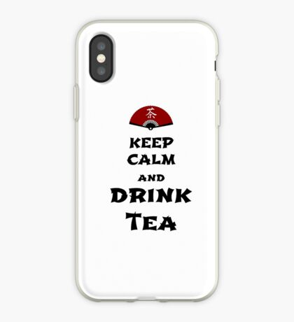 keep calm and drink tea iPhone-Hülle & Cover