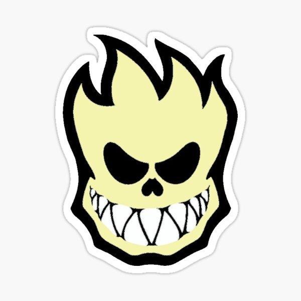 Skeleton Spitfire Sticker