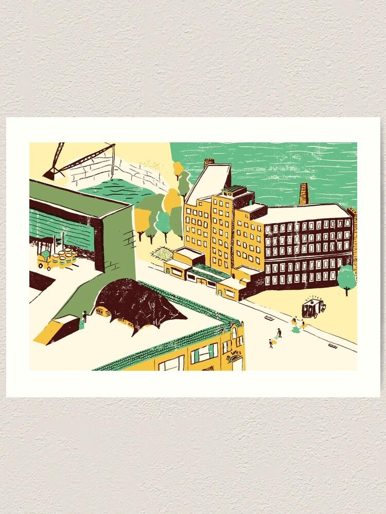 Alternate view of St. Cloud, Minnesota Art Print