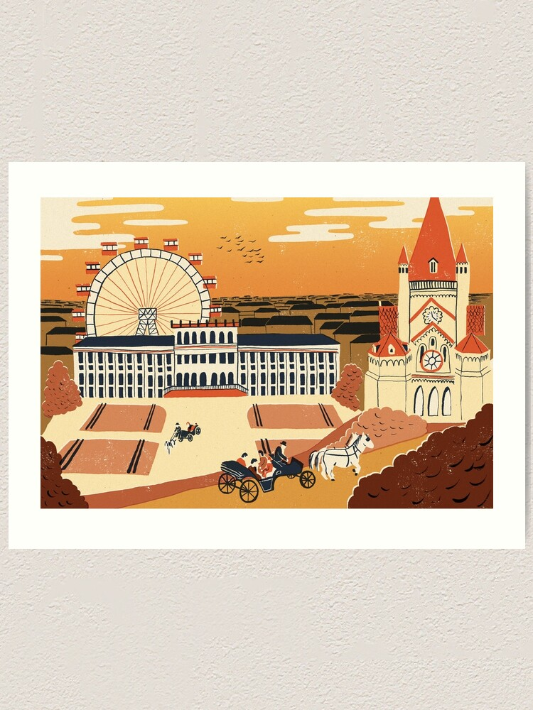Alternate view of Vienna Art Print