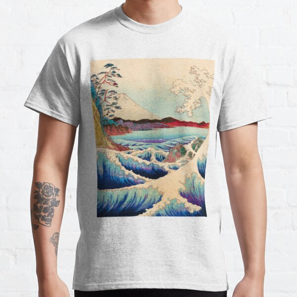 The Great Japanese Wave Mount Fuji Classic T-Shirt