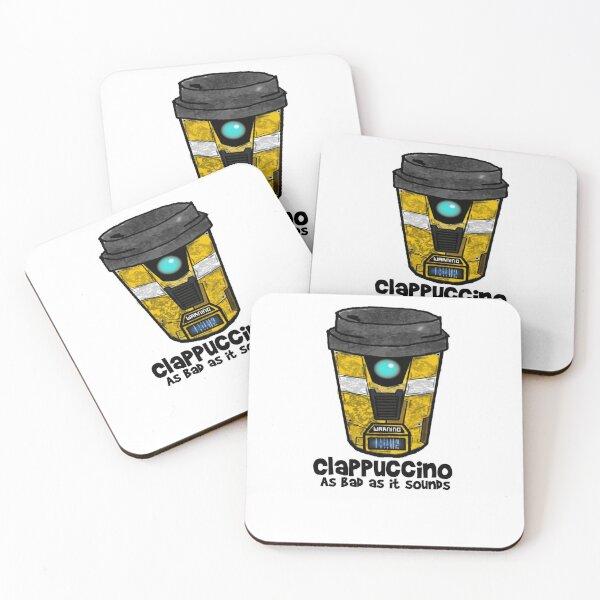 Clapucinno Coasters (Set of 4)