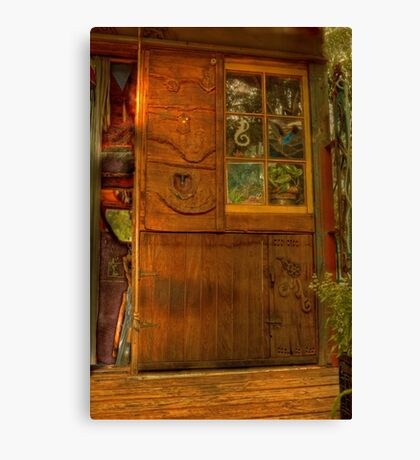 Two Doors and a Window Canvas Print