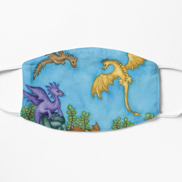 Dragons Learning to Fly Flat Mask