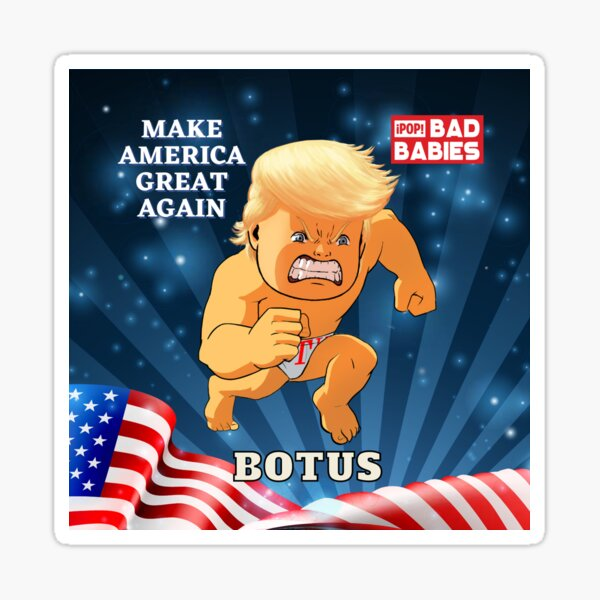 Republican Donald Trump 2 Sticker