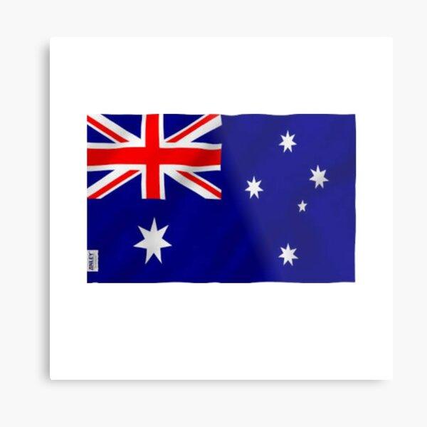 Australia Flag Metal Print