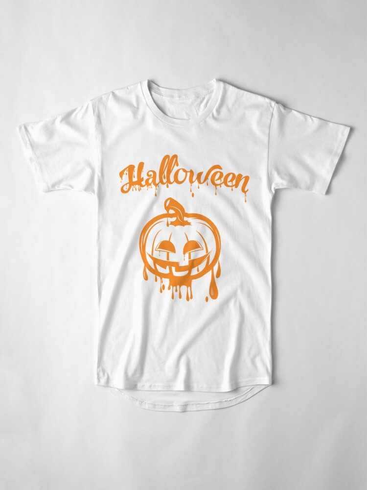 Alternate view of Halloween dark night Long T-Shirt