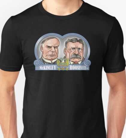McKinley/Roosevelt Ticket T-Shirt