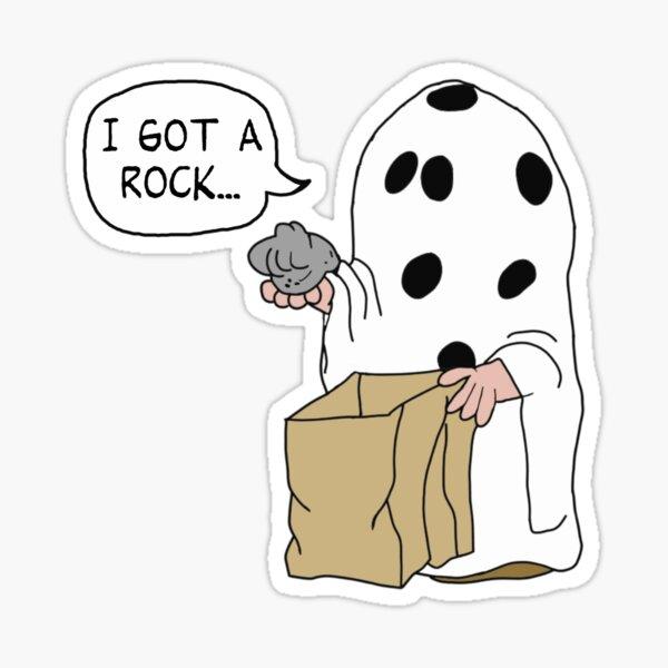 Charlie Brown Halloween Costume Sticker