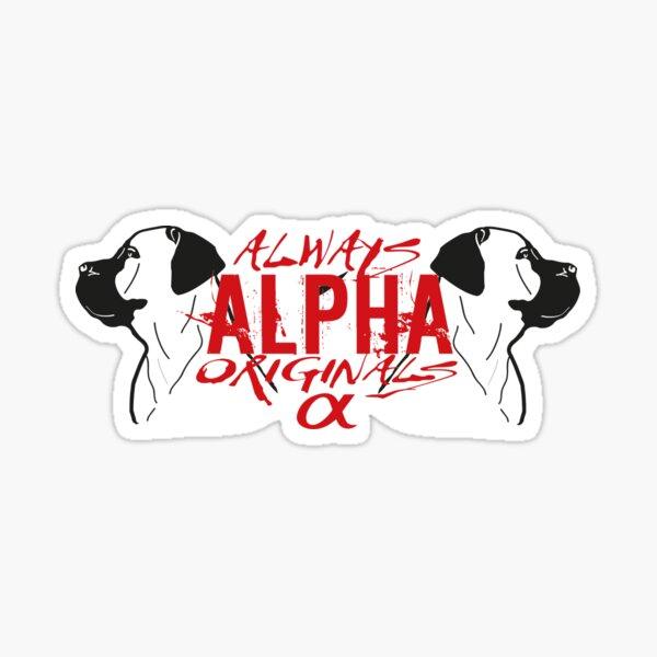 Always Alpha Sticker