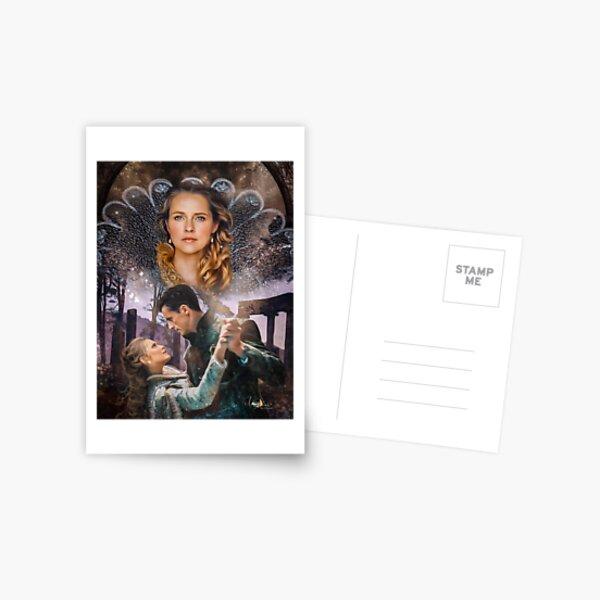 Diana und Matthew Postkarte