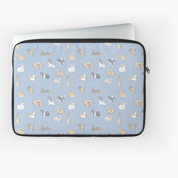 Abundance of buns - blue Laptop Sleeve