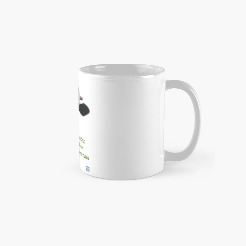 Crazy Cow You Can Save The Animals Mug