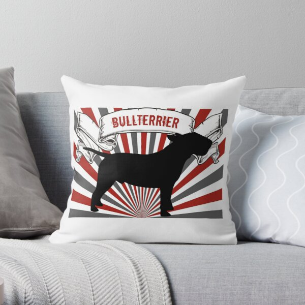 Bullterrier Dekokissen
