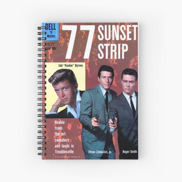 77 Sunset Strip Spiral Notebook