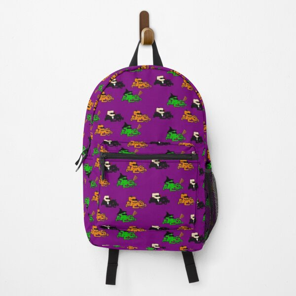 Halloween Octopunk Pattern Backpack