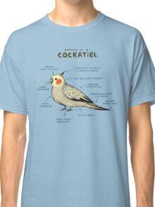 Anatomy of a Cockatiel Classic T-Shirt