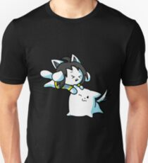 Undertale Toby and Temmie Fan Art T-Shirt
