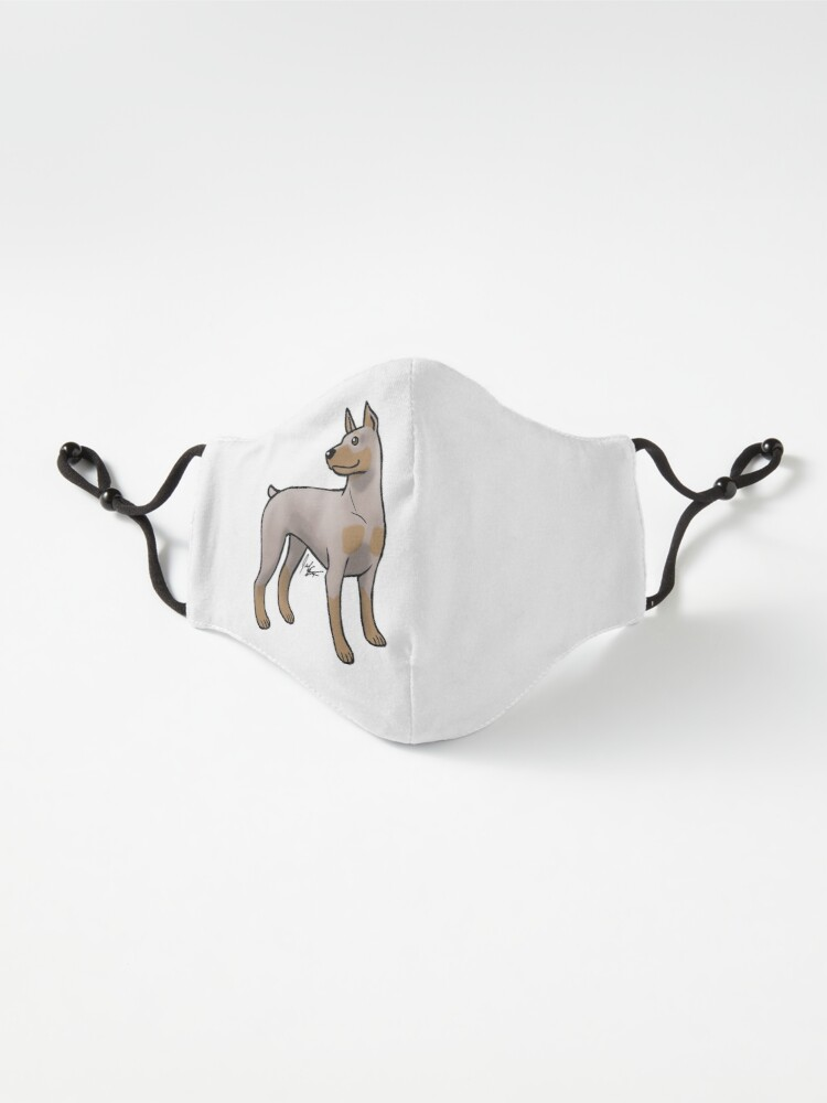 Alternate view of Doberman Pinscher - Fawn and Tan Mask
