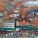 Markt Bruges-Tiltshift by DES PALMER