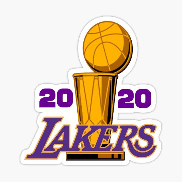 Lakers Championship 2020 Sticker