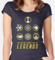 Legends Of Tomorrow  Women's Fitted Scoop T-Shirt