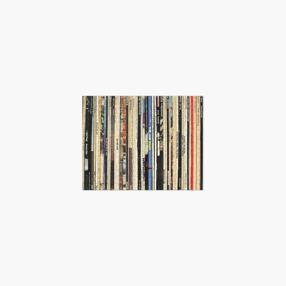 Classic Rock Vinyl Records  Jigsaw Puzzle