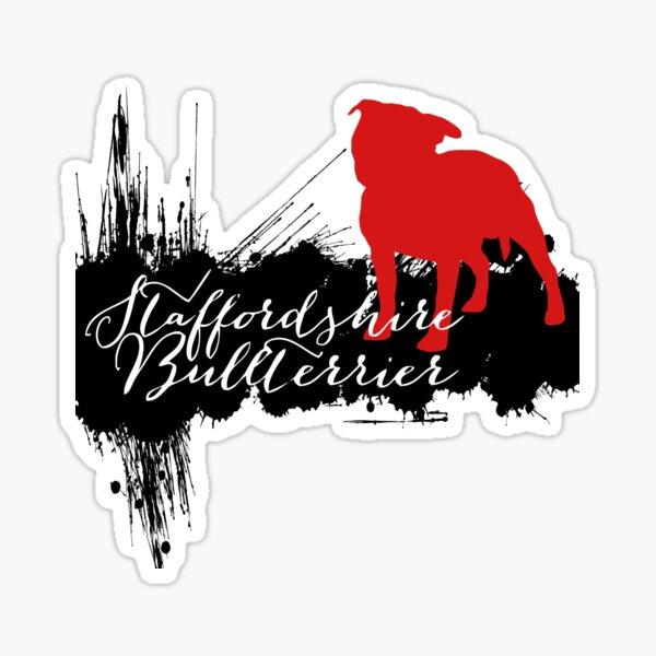 Staffordshire Bullterrier  Sticker