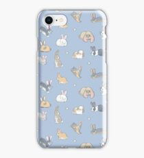Abundance of buns - blue iPhone Case/Skin