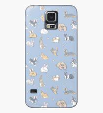 Abundance of buns - blue Case/Skin for Samsung Galaxy
