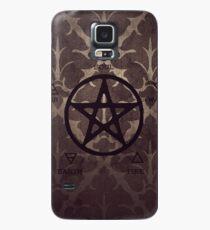 pentagrama morado Case/Skin for Samsung Galaxy