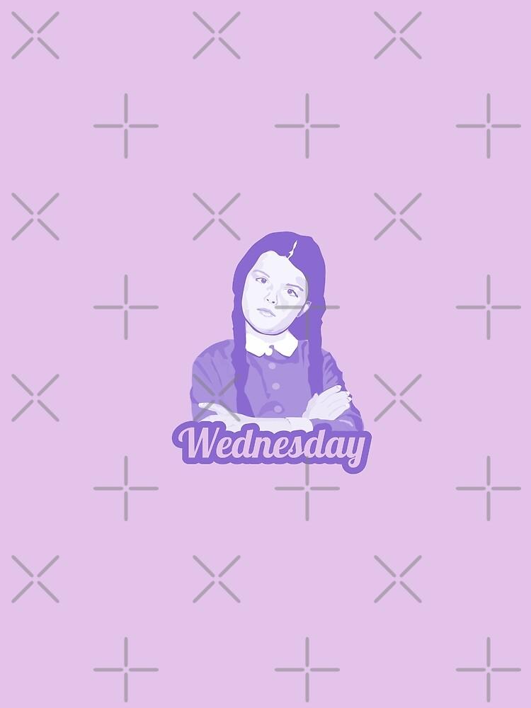Wednesday Addams by mayerarts