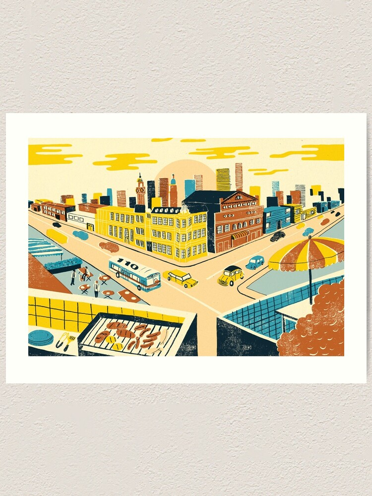 Alternate view of Buenos Aires Art Print