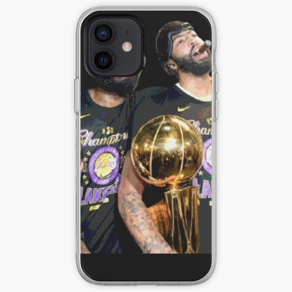 Lebron James and Anthony Davis Champions iPhone Soft Case