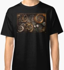 Steampunk - Abstract - Time is complicated Classic T-Shirt