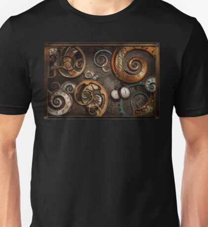 Steampunk - Abstract - Time is complicated Unisex T-Shirt
