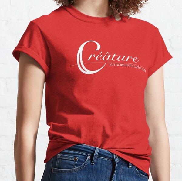 Créâture (rouge) T-shirt classique