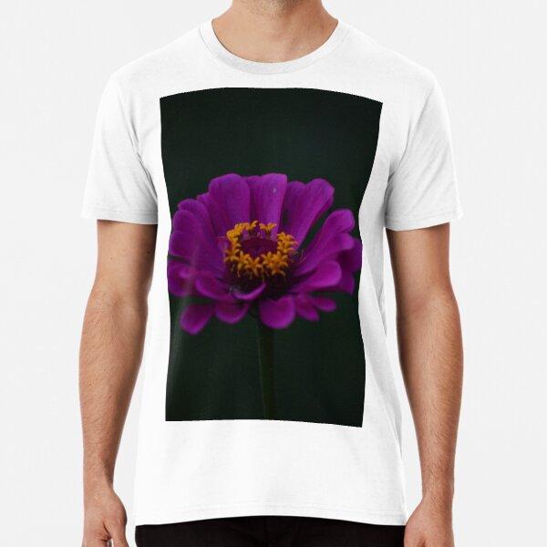 Purple Zinnia Premium T-Shirt