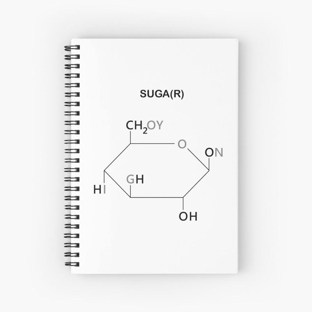 BTS Yoongi Compound Suga(r) Spiral Notebook