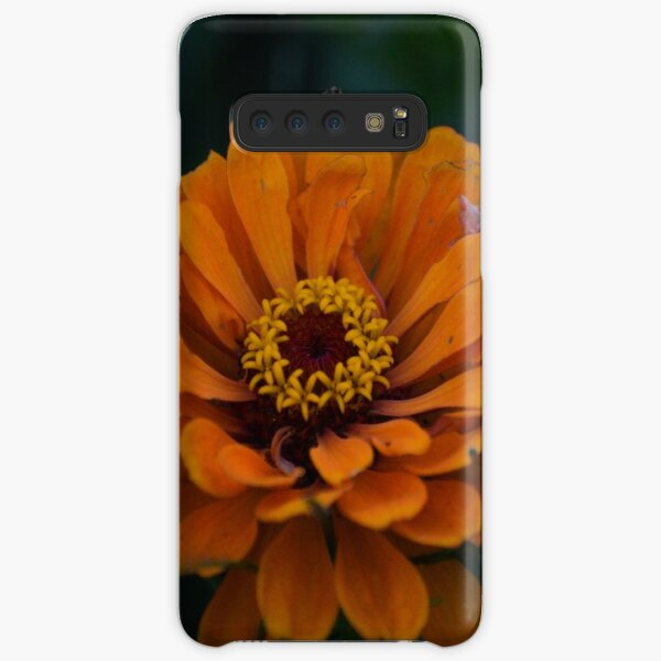 Orange Zinnia Samsung Galaxy Snap Case
