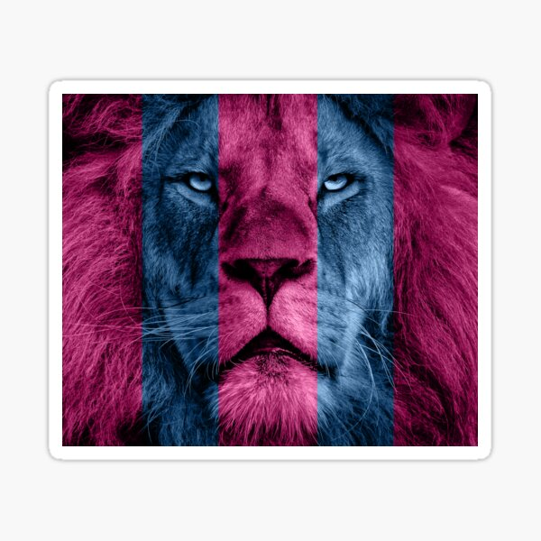 Aston Villa Lion Sticker