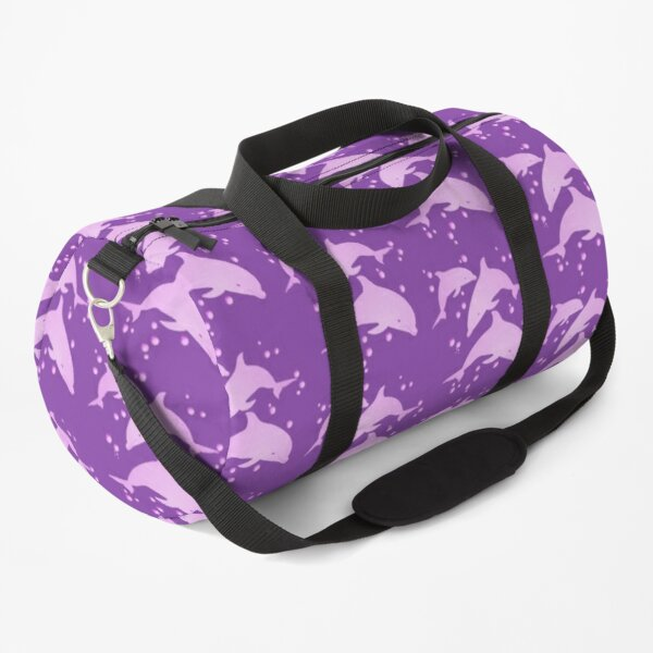 Pink Dolphins Duffle Bag