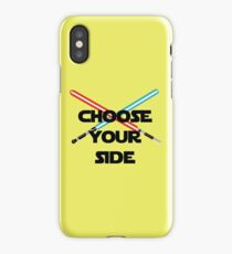 Choose A Side iPhone Case/Skin