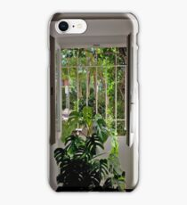 View To The Garden iPhone Case/Skin