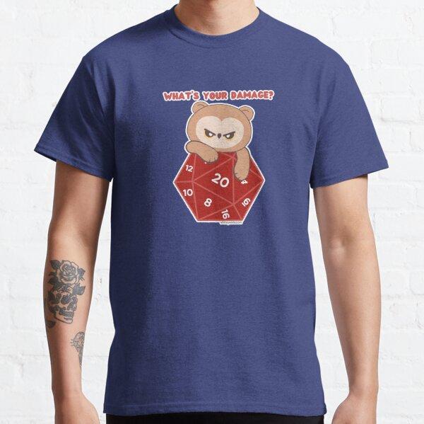 What's Your Damage? (D20 // Owlbear ) Classic T-Shirt
