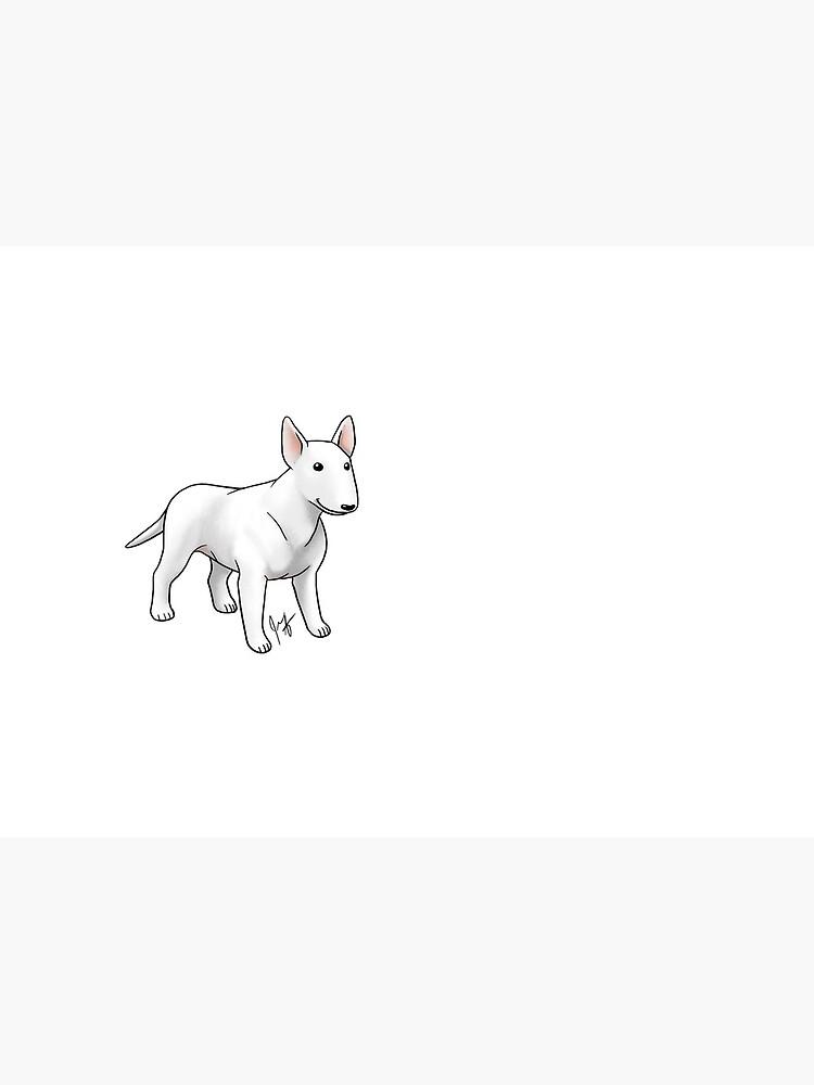 Bull Terrier - White by jameson9101322